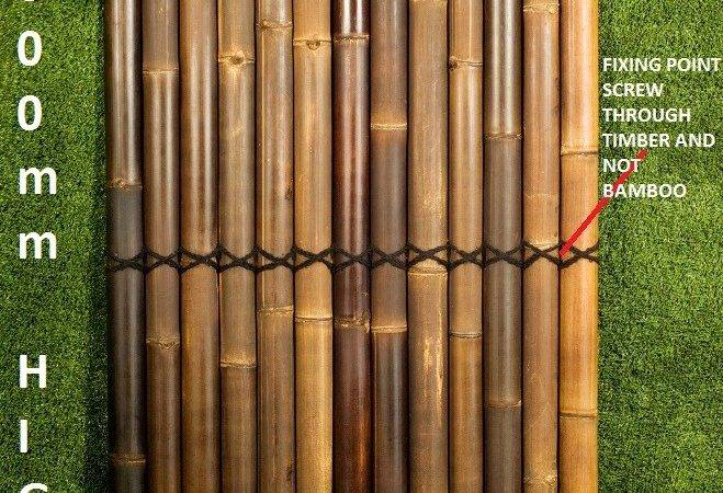 Details Bamboo Fence Panels Fencing Privacy Screens Deck Ools