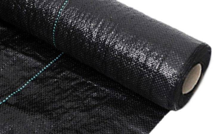 Details Heavy Duty Weed Control Woven Fabric Ground Cover Mulch