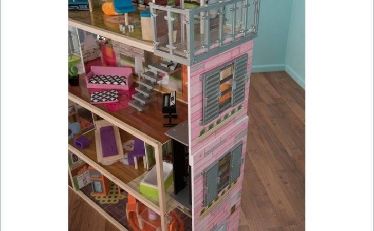 Details Kidkraft Soho Townhouse Furniture Doll House