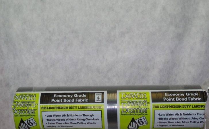 Dewitt Landscape Weed Barrier Fabric Ebay