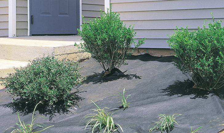 Dewitt Weed Barrier Pro Landscape Fabric Brown