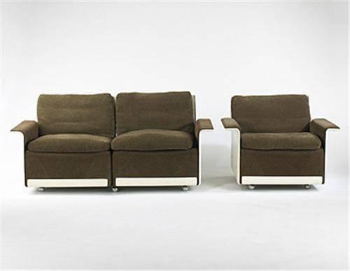 Dieter Rams Seater Sofa Chair Vitsoe