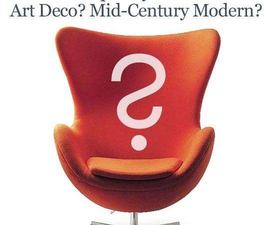 Difference Between Contemporary Modern Art Deco Mid Century