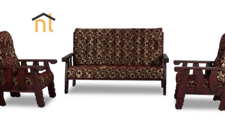 Different Beat Wooden Sofa Set
