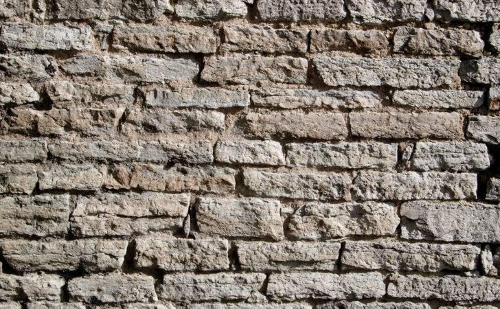 Different Limestone Brick Walls Reusage