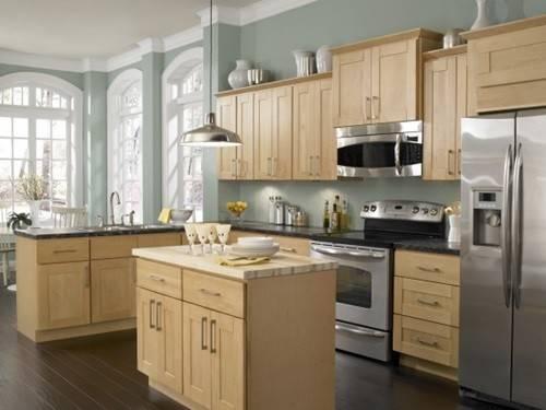 Different Types Wood Kitchen Cabinets Interior Design