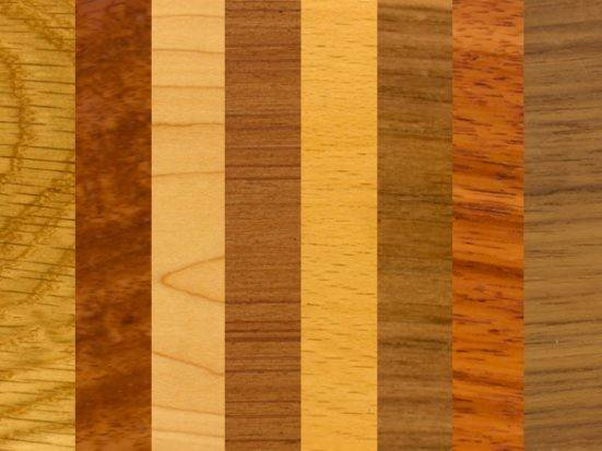 Different Types Wood Oil