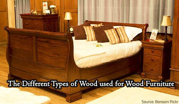 Different Types Wood Used Furniture