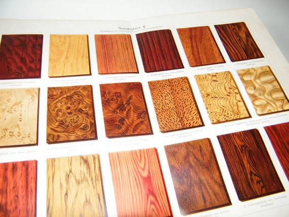 Different Wood Types