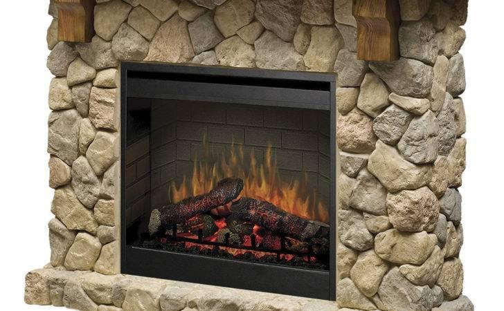 Dimplex Fieldstone Electric Fireplace Reviews Wayfair
