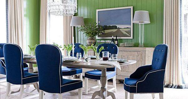 Dining Out Your New Navy Blue Room Rooms