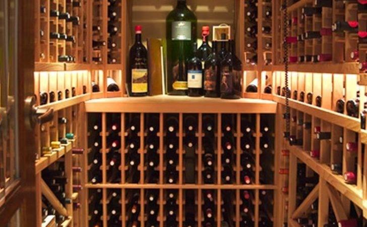 Dining Room Buit Wine Storage Design Photos