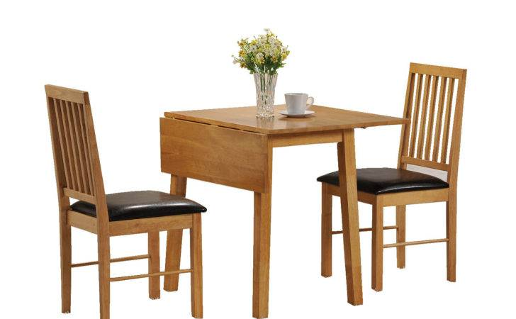 Dining Room Drop Leaf Fold Away Table Chairs