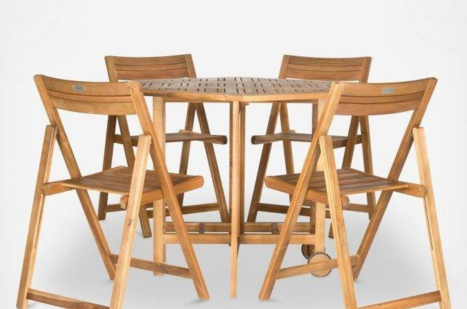 Dining Room Fold Away Table Chairs Cool