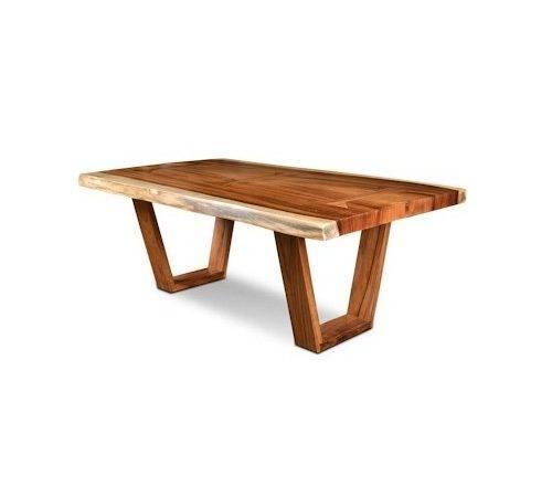 Dining Room Furniture Table Horizon Home Safari Live Edge