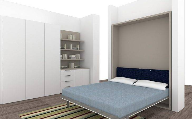 Dining Space Can Transformed Into Bedroom Using Murphy Bed