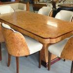Dining Table Chairs Cloud Art Deco Furniture Sales