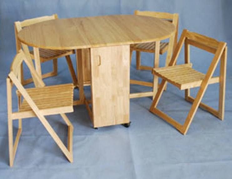 Dining Table Fold Away Chairs