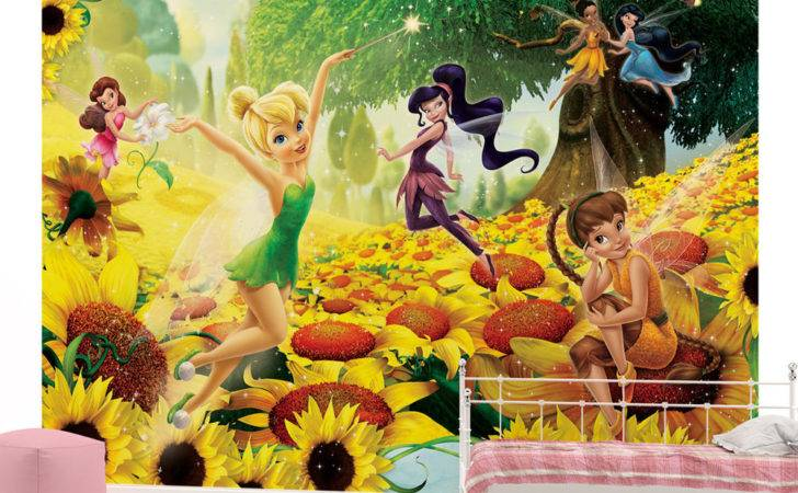 Disney Fairies Girls Kids Wall Mural Room Veve