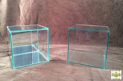 Display Cases Glass Cube Doll Figurine