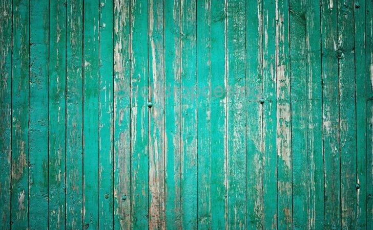 Distressed Green Wood Backdrop Colored Turquoise Vintage