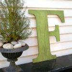 Distressed Large Letters Inch Extra Wooden Shabby