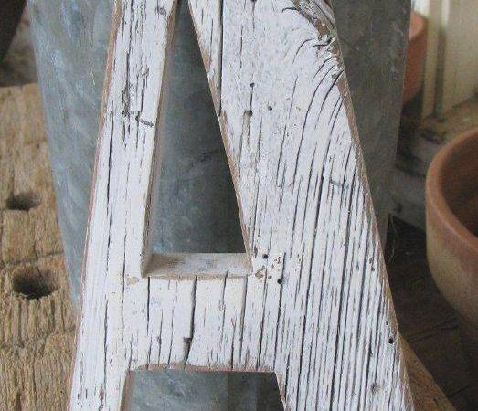 Distressed Wood Projects Yard Art Barns Letters Wooden
