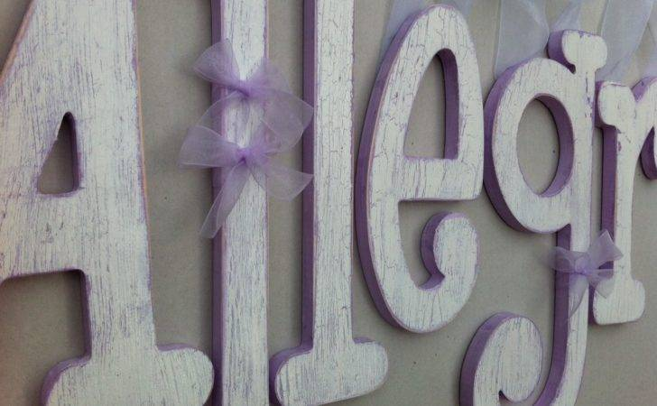 Distressed Wooden Wall Letters New House Ideas Pinterest