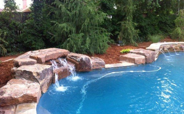 Dive Rock Water Feature Pool Pinterest