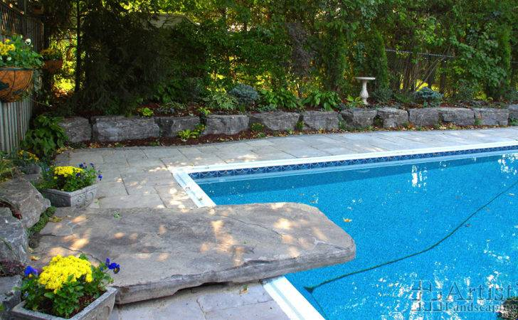 Diving Rocks Design Ideas Pools Kitchener Waterloo