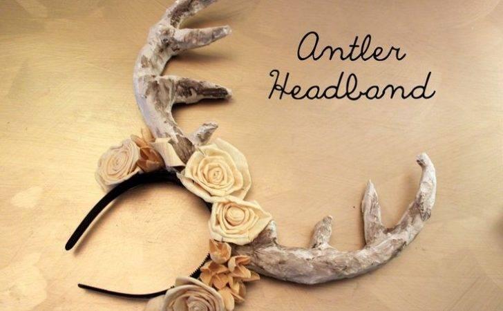 Diy Antler Headband Arbitraryambrosia