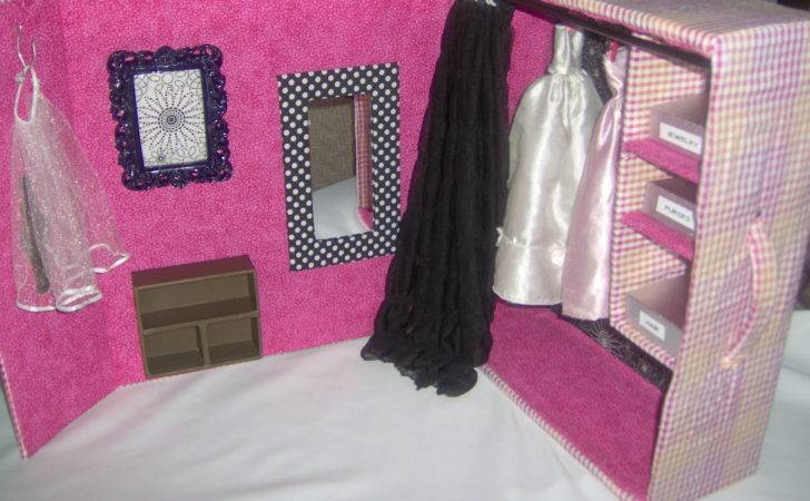 Diy Barbie Furniture Dream House Make Your Own