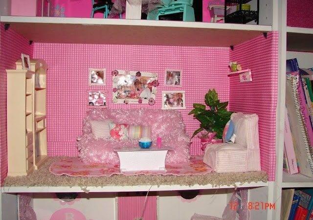 Diy Barbie House Bar Bies Dolls Pinterest