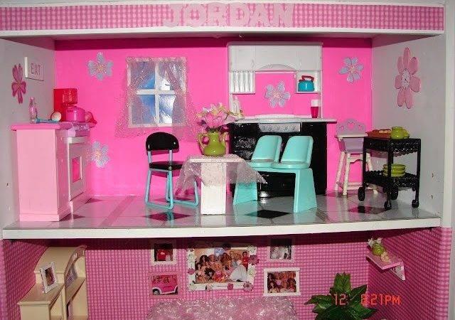Diy Barbie House Crafts Pinterest