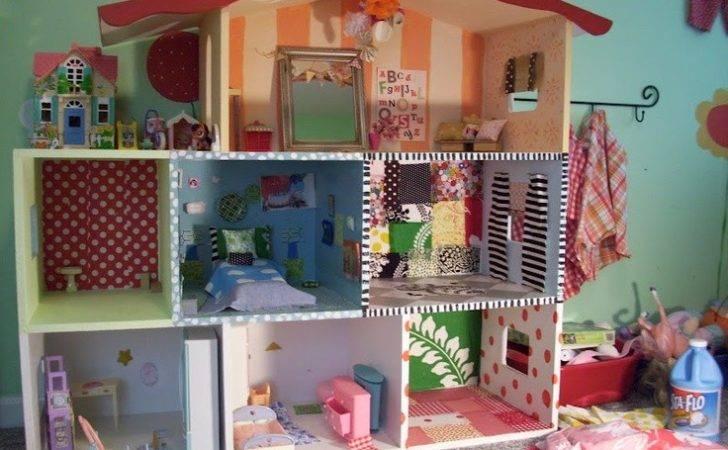 Diy Barbie House Doll Stuff Pinterest