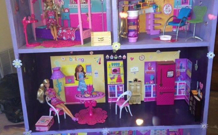 Diy Barbie House Kids Stuff Toys Dollhouse