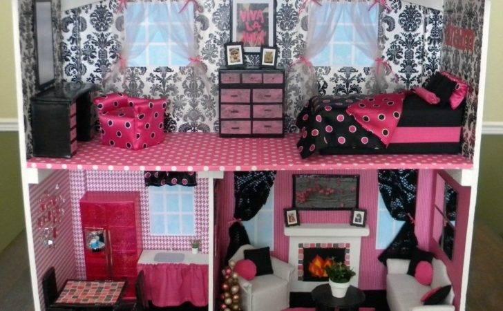 Diy Barbie House Over Apple Tree