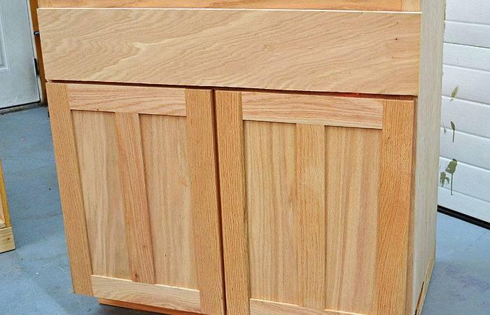 Diy Build Kitchen Cabinet Doors Ana White Sink
