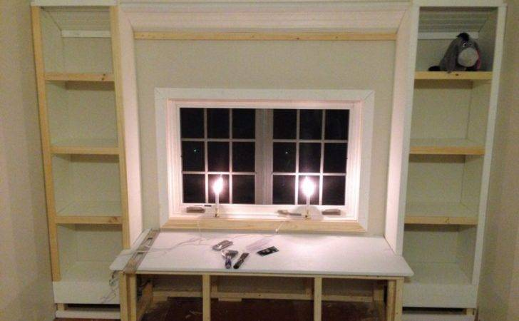 Diy Build Window Seat Built Bookcases Tucker Room
