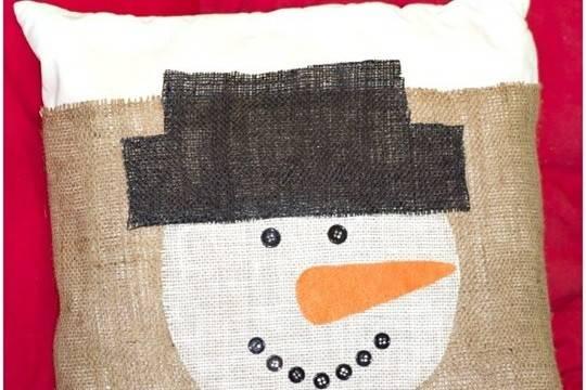 Diy Burlap Pillow Cover Craftsmile