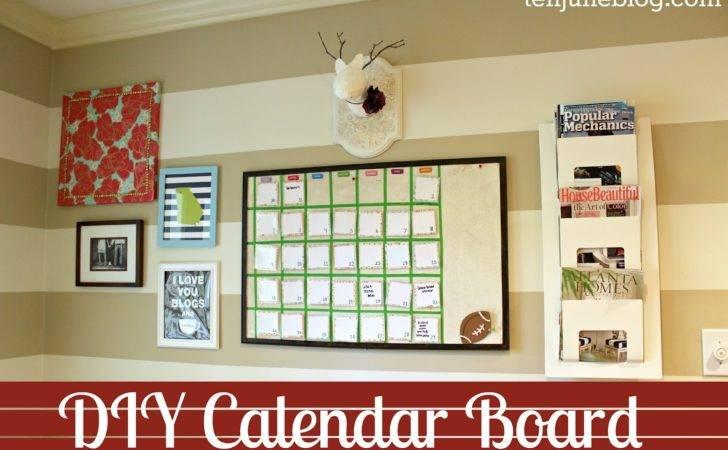 Diy Calendar Board