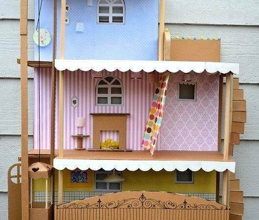 Diy Cardboard Barbie House