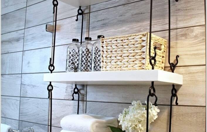 Diy Ceiling Hanging Shelves Chain