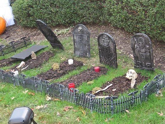 Diy Cemetery Decorations