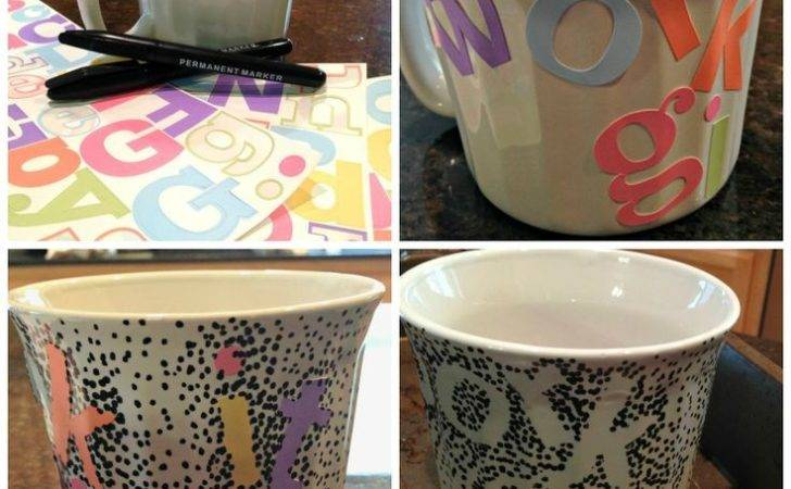 Diy Coffee Mug Design Mugs Baking