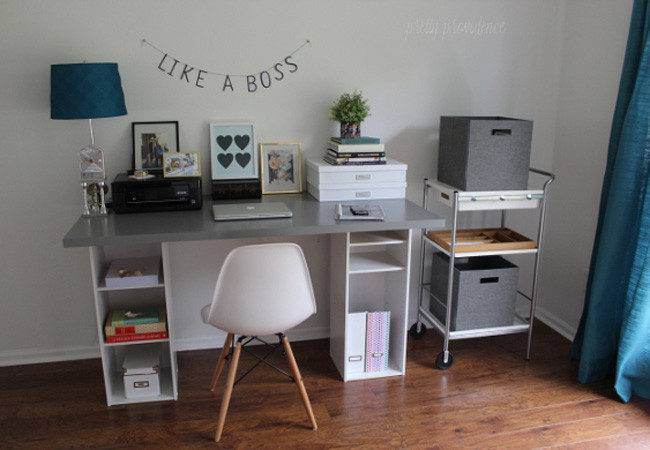 Diy Computer Desk Ways Bob Vila
