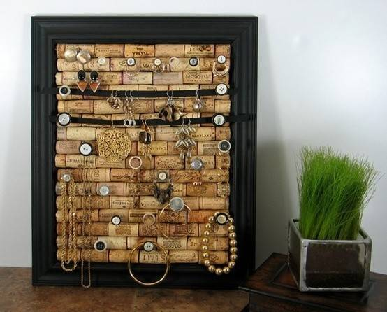 Diy Cork Infused Jewelry Holder College Gloss