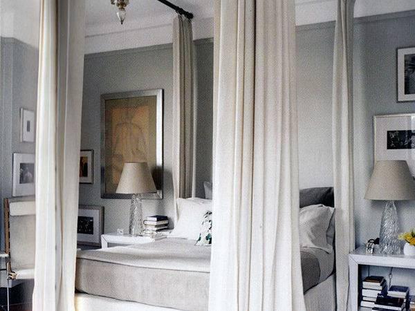 Diy Curtain Rod Canopy Bed Fuji Files