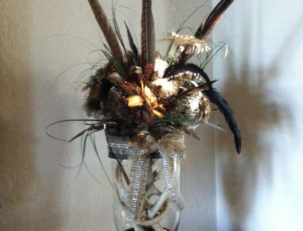Diy Deer Antler Centerpiece Thoughts Weddingbee