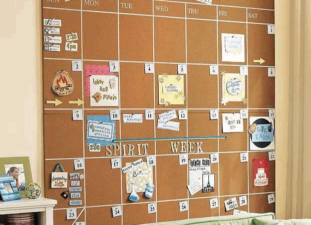 Diy Dorm Friendly Decorations Corks Calendar Cork Boards